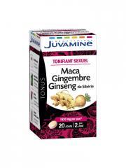 Juvamine Phyto Maca Gingembre Ginseng 40 Comprimés - Boîte 40 comprimés