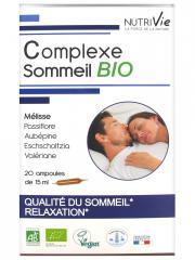 Nutrivie Complexe Sommeil Bio 20 Ampoules - Boîte 20 Ampoules de 15 ml
