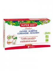 Super Diet Quatuor Coriandre Cardio-vasculaire Bio 20 Ampoules - Boîte 20 ampoules