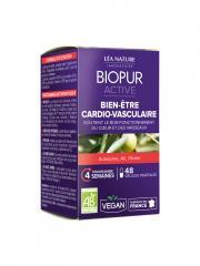 Biopur Active Bien-Être Cardio-Vasculaire 48 Gélules Végétales - Boîte 48 Gélules Végétales