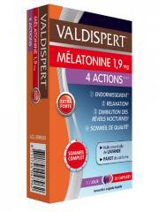 Valdispert Mélatonine 1,9 mg 4 Actions 30 Capsules - Boîte 30 Capsules