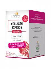 Biocyte Collagen Express Anti-Age Peau Lissée 30 Sticks - Boîte 30 sticks de 6 g