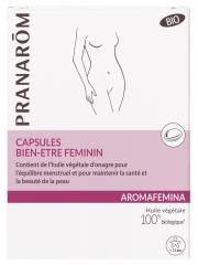 Pranarôm Aromafemina Capsules Bien-Etre Féminin Bio 30 Capsules - Boîte 30 capsules