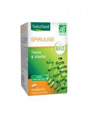 Naturland Spiruline Bio 75 Végécaps - Boîte 75 végécaps
