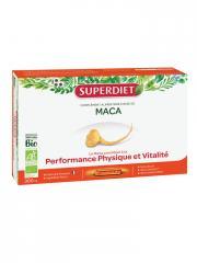 Super Diet Maca Bio 20 Ampoules - Boîte 20 Ampoules de 15 ml