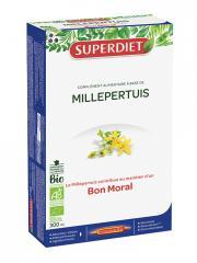 Super Diet Millepertuis Bio 20 Ampoules - Boîte 20 ampoules de 15 ml