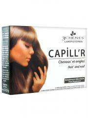 Les 3 Chênes Capill'R Cheveux et Ongles 30 Comprimés - Boîte 30 comprimés