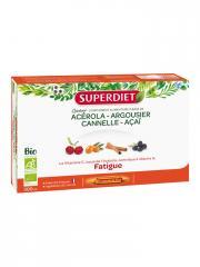 Super Diet Quatuor Acérola Tonique Bio 20 Ampoules - Boîte 20 ampoules de 15 ml