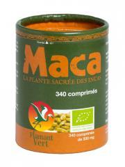 Flamant Vert Maca Bio 340 Comprimés de 500 mg - Pot 340 comprimés