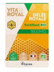 Nutrisanté Gelée Royale Bio 1800 mg 10 Ampoules - Boîte 10 ampoules