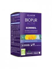 Biopur Active Sommeil 48 Gélules Végétales - Boîte 48 Gélules Végétales