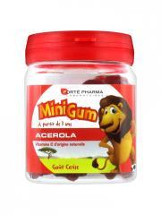Forté Pharma Minigum Acérola 50 Gommes - Boîte 50 gommes