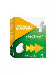 Nutrisanté Vitamine C + Gelée Royale Fortifiant 24 Comprimés - Boîte 24 Comprimés
