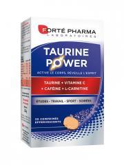Forté Pharma Energie Taurine Power 30 Comprimés Effervescents - Boîte 30 comprimés effervescents