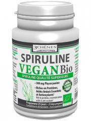 Les 3 Chênes Bio Spiruline de Production Biologique 60 comprimés - Boîte 60 comprimés