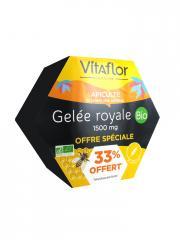 Vitaflor Gelée Royale 1500 mg Bio 20 Ampoules Offre spéciale - Boîte 20 ampoules