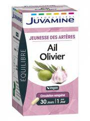 Juvamine Phyto Ail Olivier 30 Gélules - Boîte 30 gélules