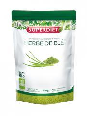 Super Diet Herbe de Blé Bio 200 g - Sachet 200 g