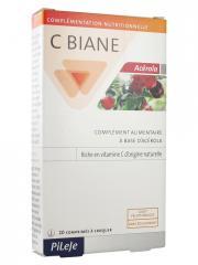 Pileje C Biane Acérola 20 Comprimés - Boîte 20 comprimés
