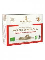Ballot-Flurin Propolis Blanche 8,5 g Bio 10 Ampoules - Boîte 10 ampoules x 10 ml