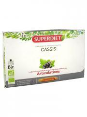 Super Diet Cassis Bio 20 Ampoules - Boîte 20 Ampoules de 15 ml