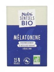 Nutrisanté Nutri'SENTIELS BIO Mélatonine 15 Gélules - Flacon 15 Gélules