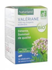 Naturland Valériane Bio 75 Végécaps - Boîte 75 végécaps