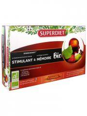 Super Diet Ginkgo Boost Bio 20 Ampoules - Boîte 20 ampoules