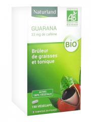 Naturland Guarana Bio 150 Végécaps - Boîte 150 végécaps
