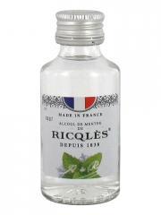 Ricqlès Alcool de Menthe Poivrée 50 ml - Flacon 50 ml