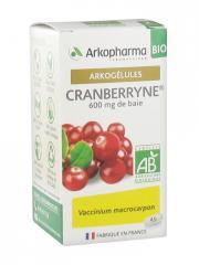 Arkopharma Arkogélules Cranberryne Bio 45 Gélules - Boîte 45 gélules