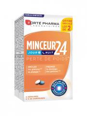 Forté Pharma Minceur 24 Jour et Nuit Lot de 2 x 28 Comprimés - Lot 2 x 28 comprimés