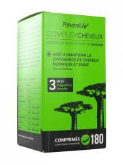 S.I.D Nutrition PreventLife ComplexCheveux 180 Comprimés - Pot 180 comprimés