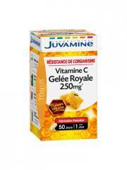 Juvamine Vitamine C Gelée Royale 250 mg 50 Gélules - Boîte 50 gélules