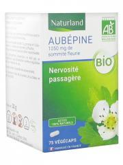 Naturland Aubépine Bio 75 Végécaps - Boîte 75 végécaps