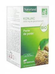 Naturland Konjac Bio 150 Végécaps - Boîte 150 végécaps