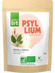 Esprit Bio Psyllium Poudre à Saupoudrer Riche en Fibres 150 g - Sachet 150 g