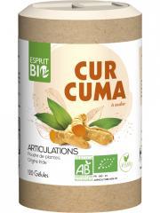 Esprit Bio Curcuma à Avaler Articulations 120 Gélules - Boîte 120 Gélules