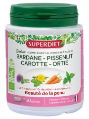Super Diet Quatuor Bardane Beauté de la Peau Bio 150 Gélules - Boîte 150 gélules