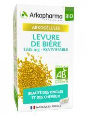 Arkopharma Arkogélules Levure de Bière Bio 150 Gélules - Pot 150 Gélules