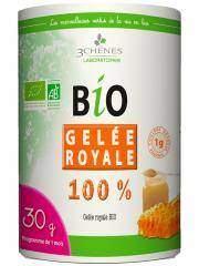Les 3 Chênes Bio Gelée Royale 100% 30 g - Boîte 30 g