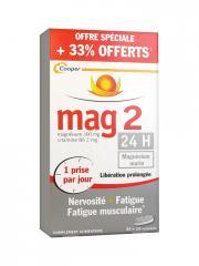 Mag 2 24 H 45 Comprimés + 15 Comprimés Offerts - Boîte 60 comprimés