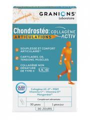 Granions Chondrostéo Articulations Collagène Activ 30 Gélules - Boîte 30 Gélules
