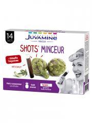 Juvamine Artichaut 14 Shots Minceur - Boîte 14 Shots