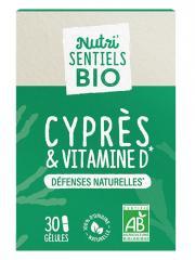 Nutrisanté Nutri'SENTIELS BIO Cyprès & Vitamine D 30 Gélules - Pot 30 Gélules