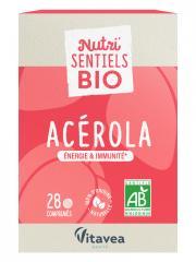 Nutrisanté Nutri'SENTIELS BIO Acérola 28 Comprimés - Flacon 28 Comprimés