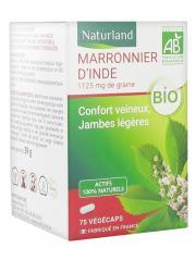 Naturland Marronnier d'Inde Bio 75 Végécaps - Boîte 75 végécaps