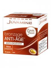 Juvamine Bronzage Anti-Âge Anti-Oxydant 30 Capsules - Boîte 30 Capsules