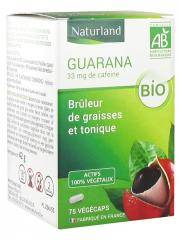 Naturland Guarana Bio 75 Végécaps - Flacon 75 Végécaps
