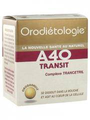 Laboratoires Zannini Orodiétologie A40 Transit 40 Orogranules - Boîte 40 orogranules